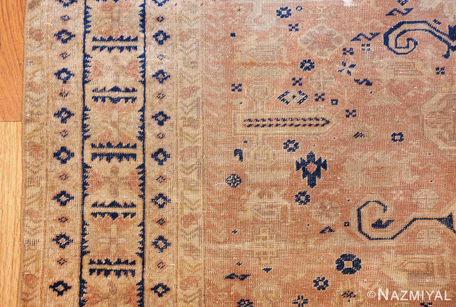small decorative vintage caucasian carpet 48091 design Nazmiyal
