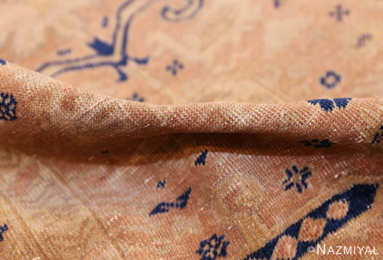 small decorative vintage caucasian carpet 48091 pile Nazmiyal