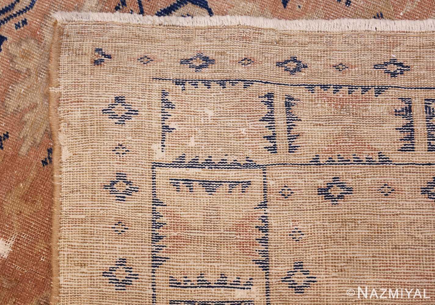 small decorative vintage caucasian carpet 48091 weave Nazmiyal