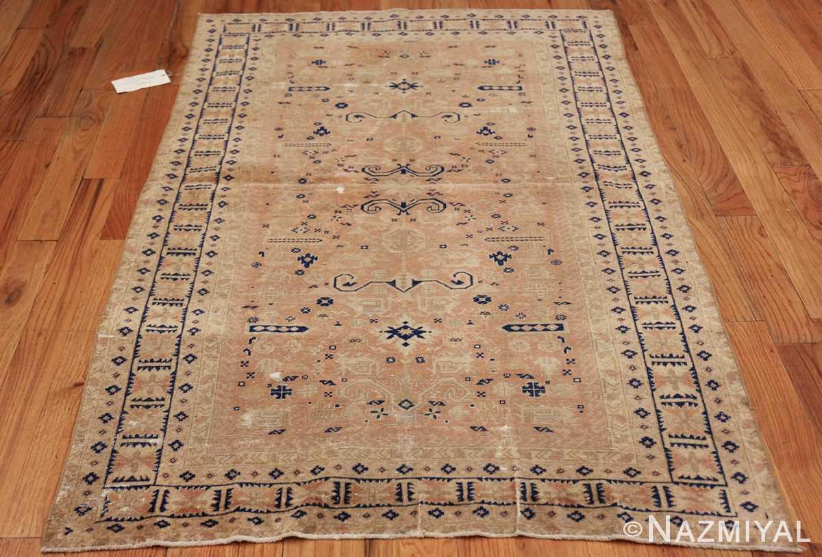 small decorative vintage caucasian carpet 48091 whole Nazmiyal