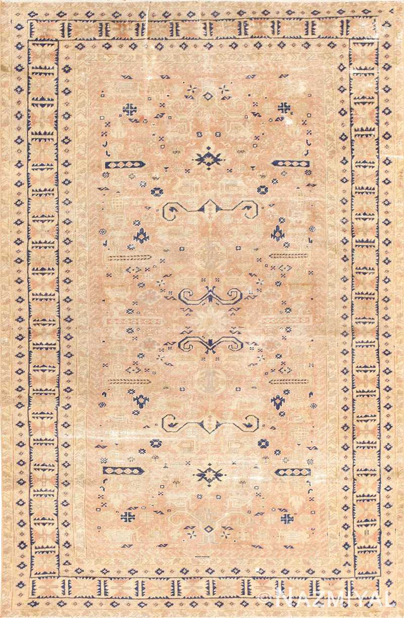 Small Vintage Caucasian Carpet 48091 Nazmiyal