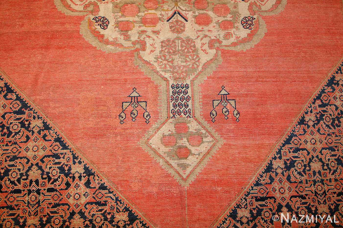 star david antique persian malayer rug 50467 field Nazmiyal