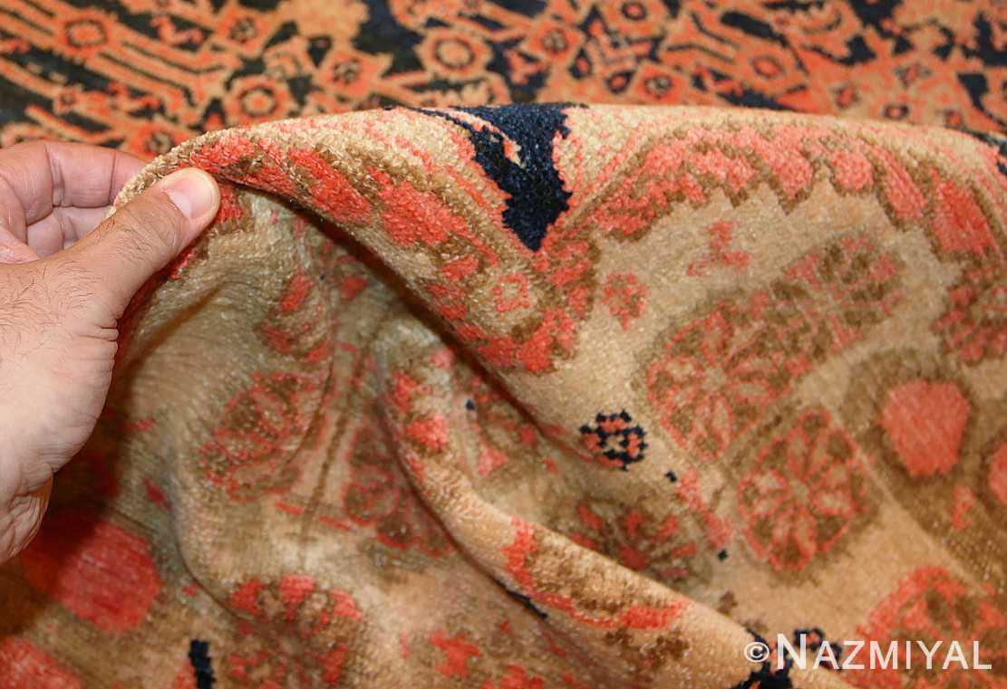 star david antique persian malayer rug 50467 pile Nazmiyal