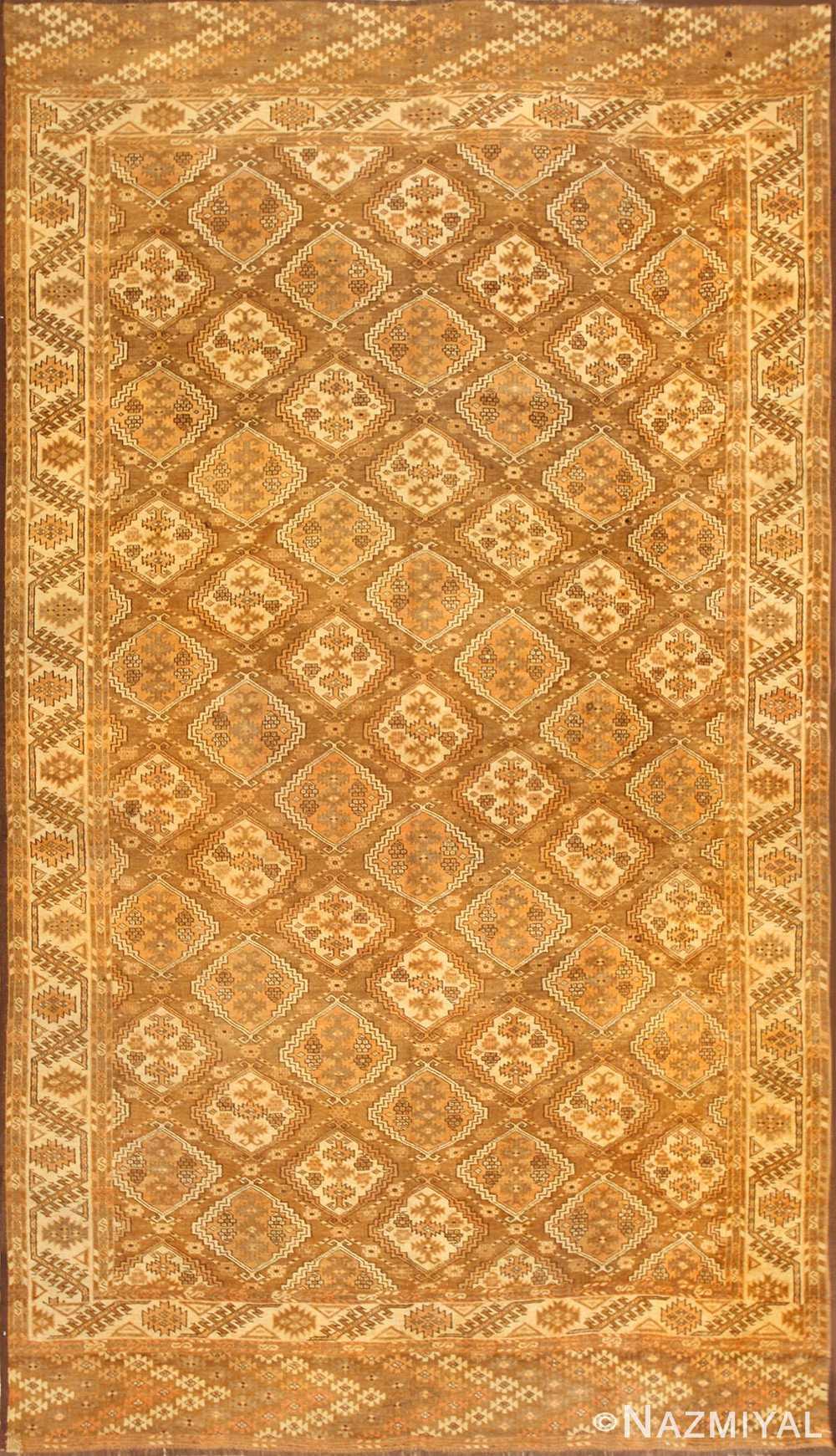 Vintage Afghan Rug 50500 Detail/Large View