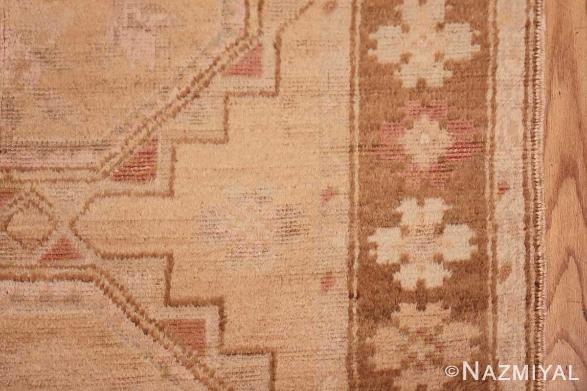 Vintage East Turkestan Khotan Rug 50497 Border Design Nazmiyal