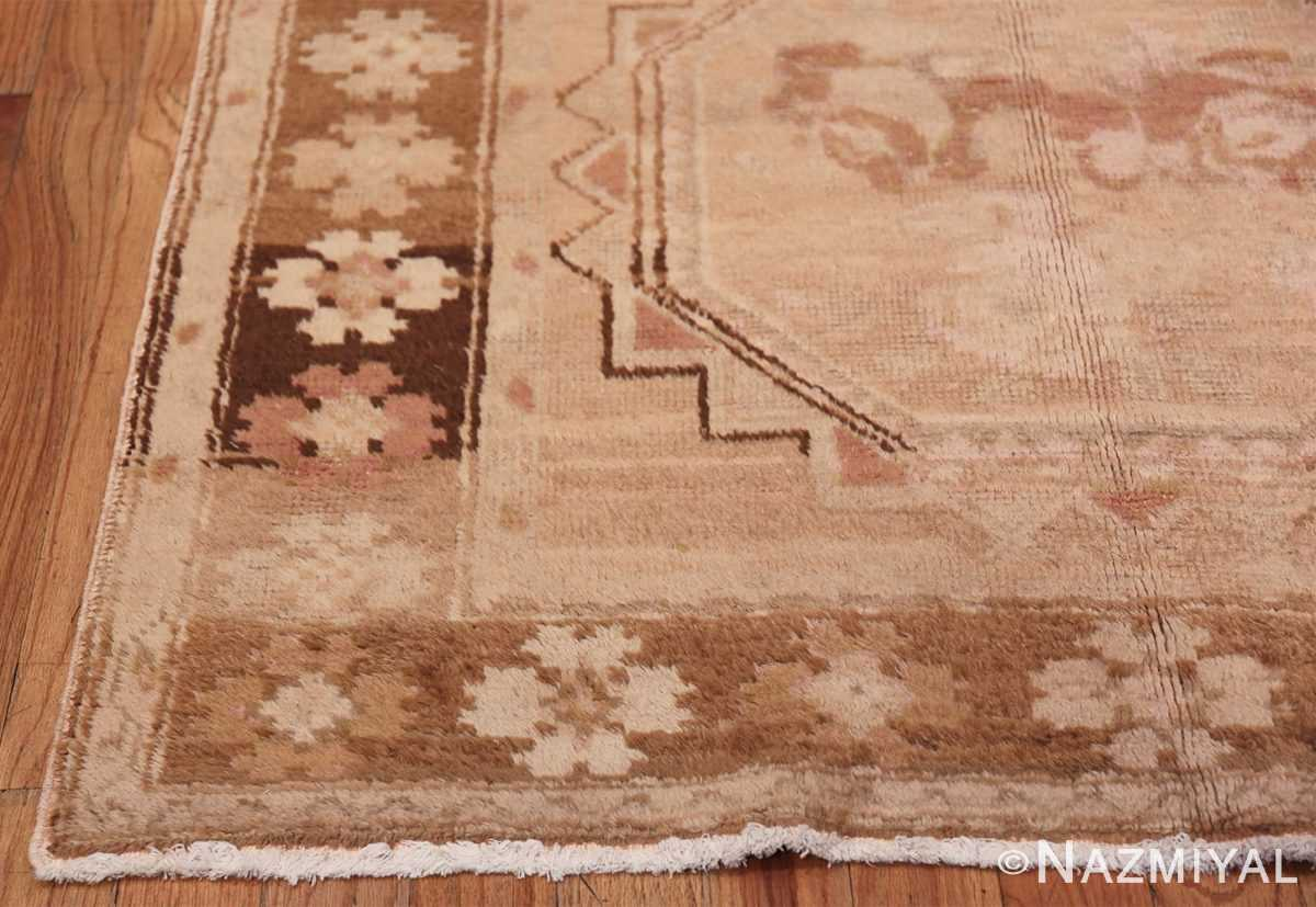 Vintage East Turkestan Khotan Rug 50497 Side Corner Nazmiyal