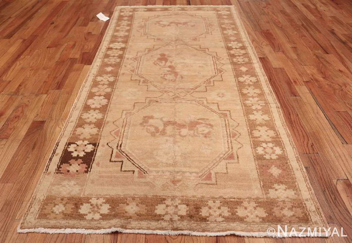 Vintage East Turkestan Khotan Rug 50497 Whole Design Nazmiyal