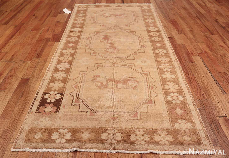 Vintage East Turkestan Khotan Rug 50497 Whole Design Nazmiyal
