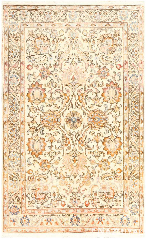 Vintage Indian Tabriz Rug 50529 Detail/Large View