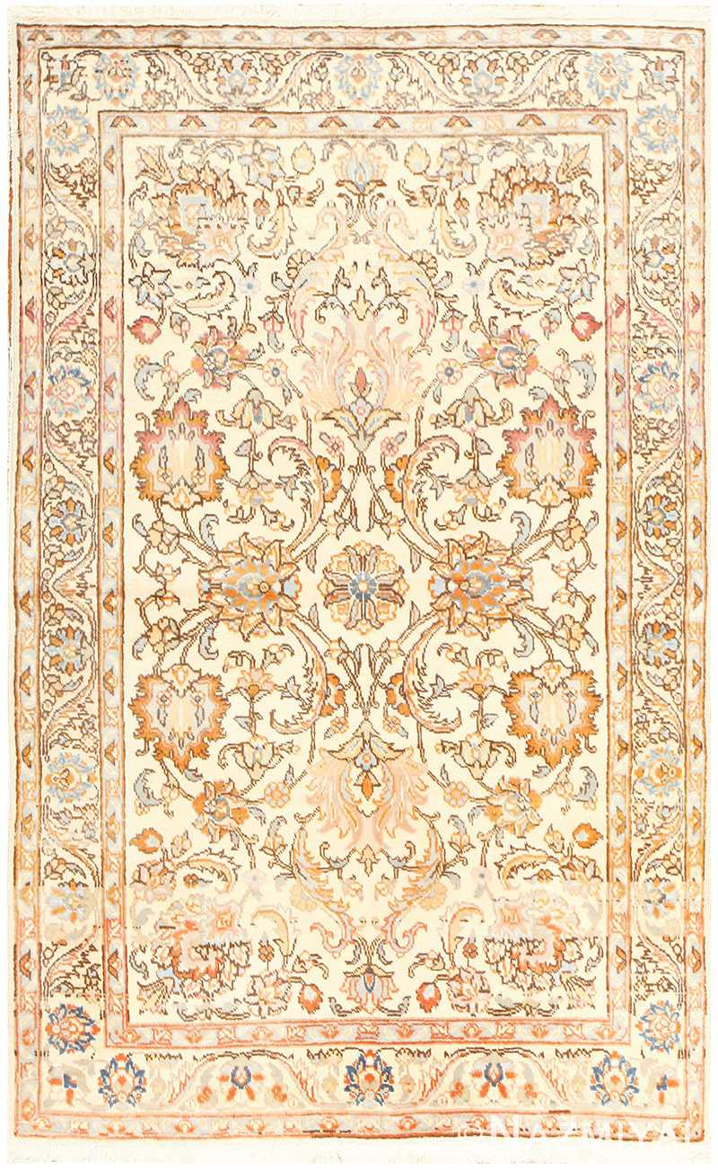 Vintage Indian Tabriz Rug 50529 Detail/Large View
