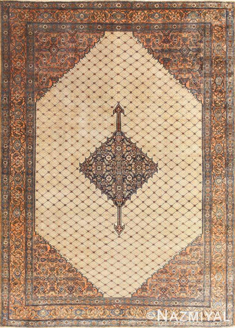 Vintage Persian Bibikabad Rug 50368 Nazmiyal