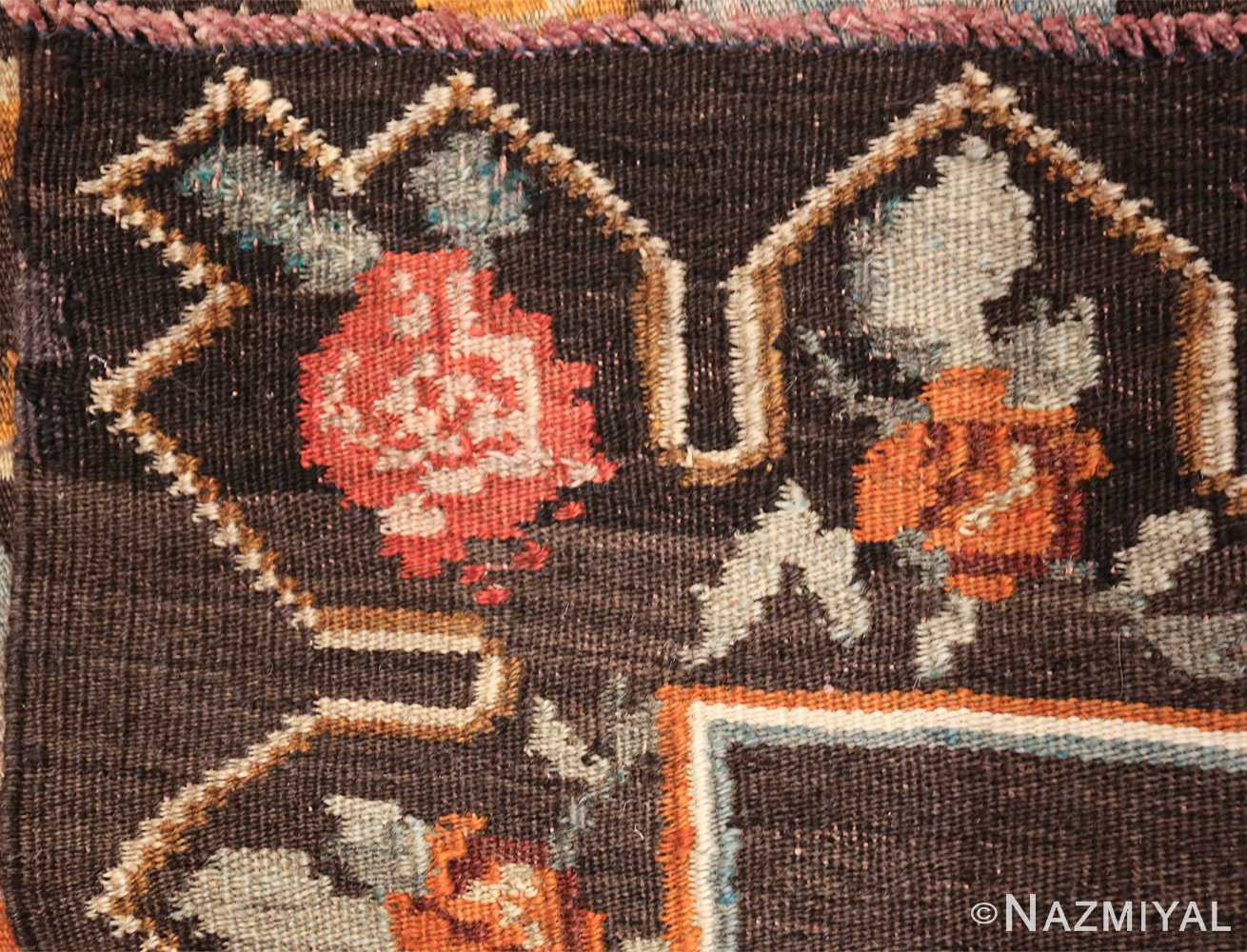 vintage turkish kilim rug 50517 knots Nazmiyal