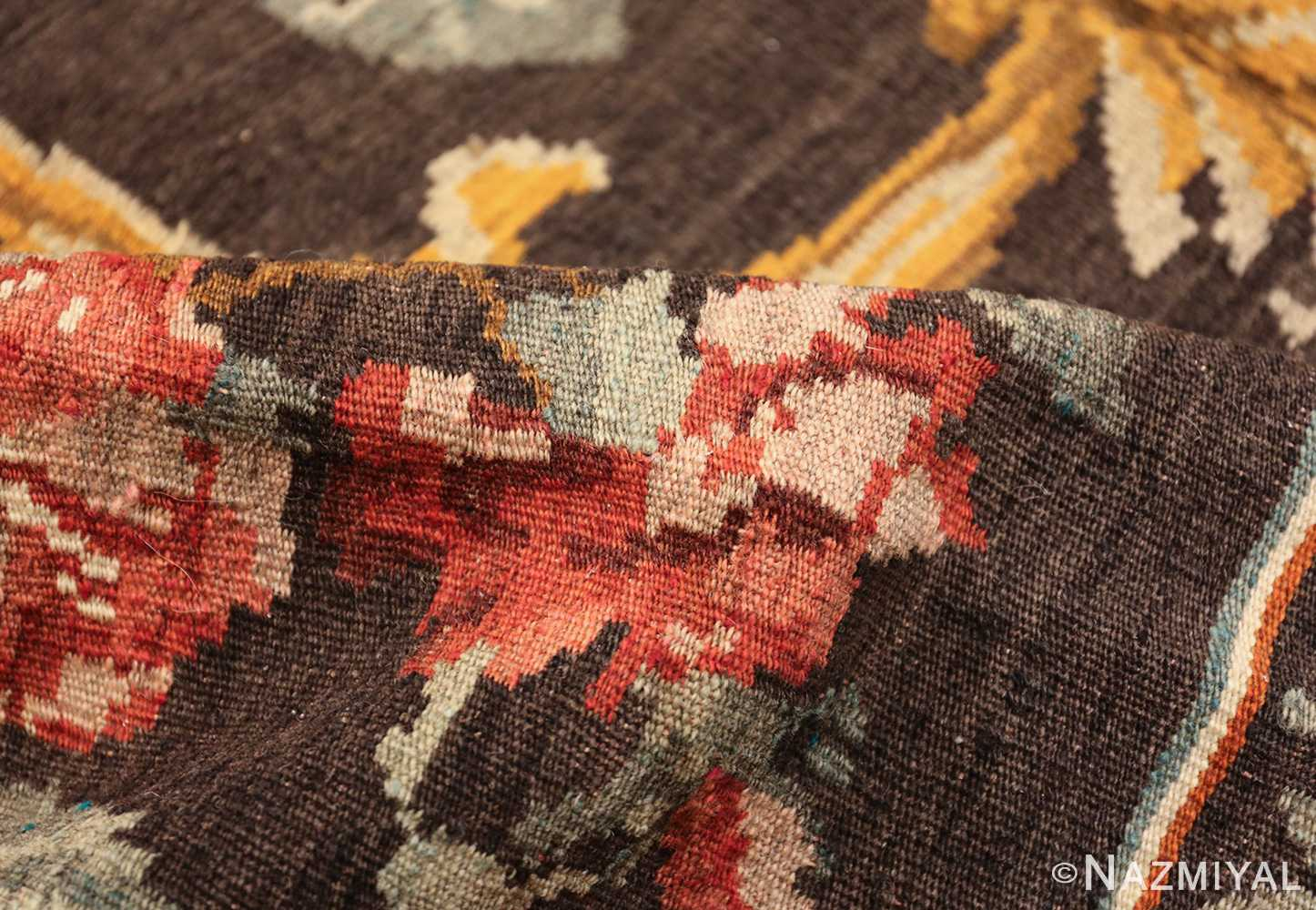 vintage turkish kilim rug 50517 pile Nazmiyal