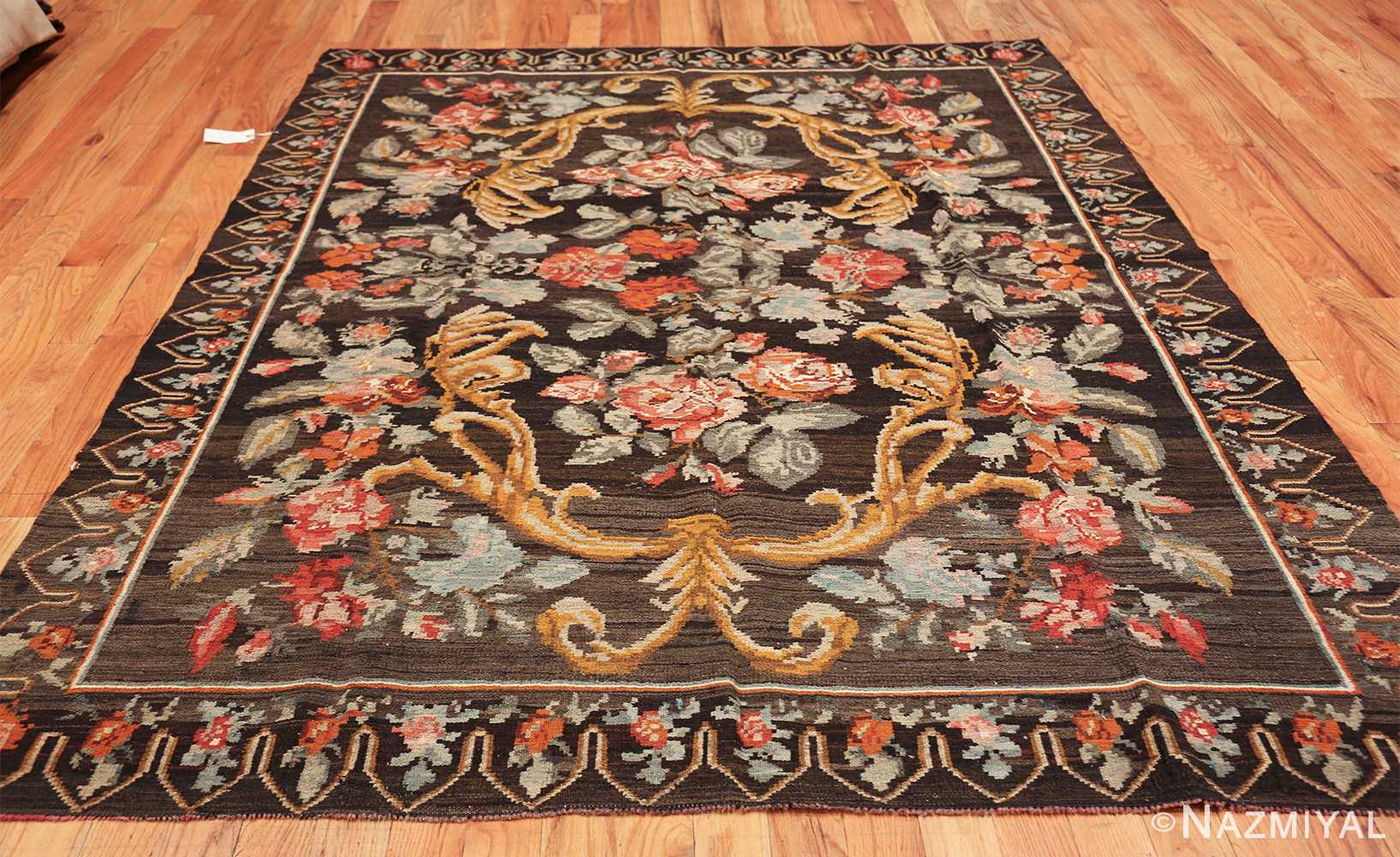 vintage turkish kilim rug 50517 whole Nazmiyal
