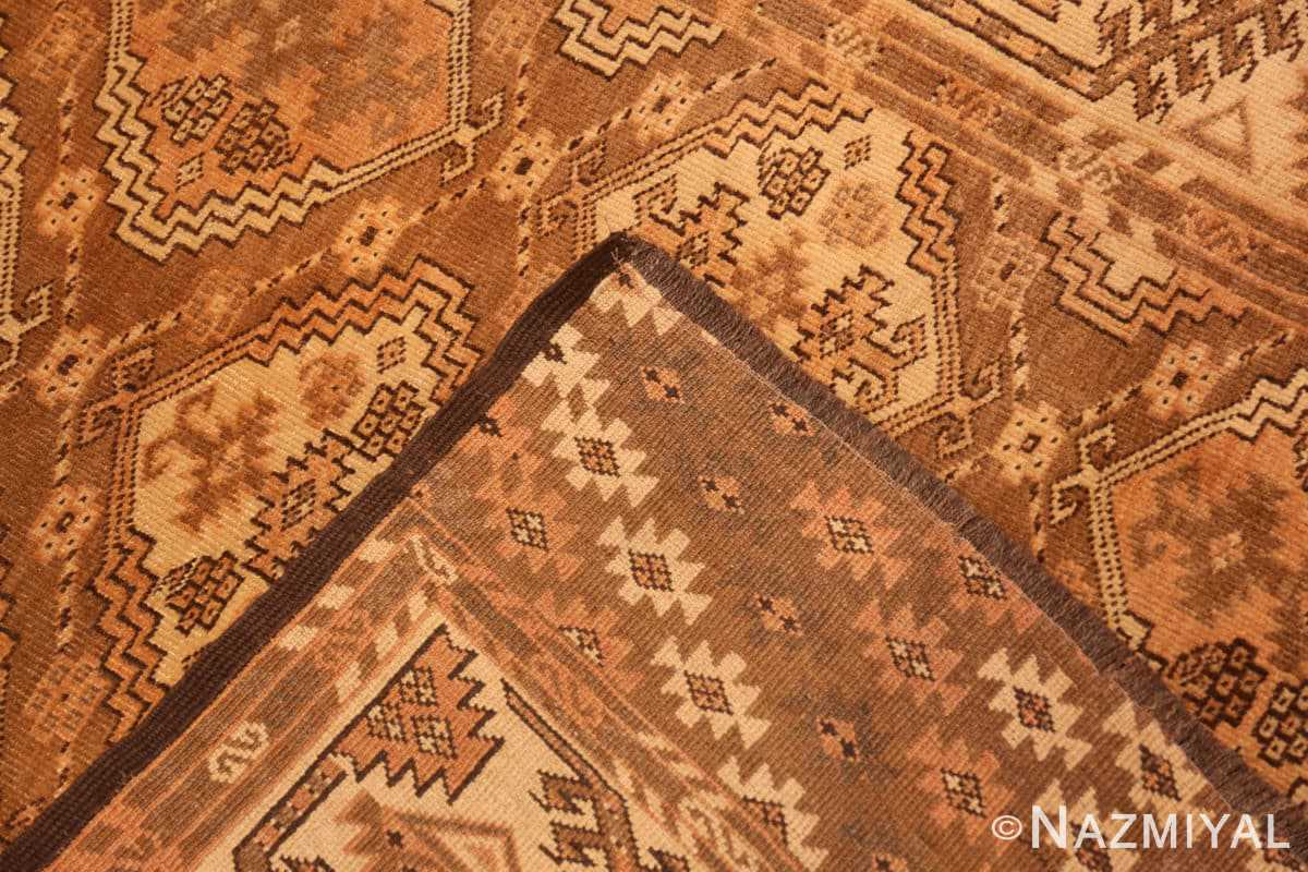 Weave long and narrow vintage tribal Afghan rug 50500 by Nazmiyal