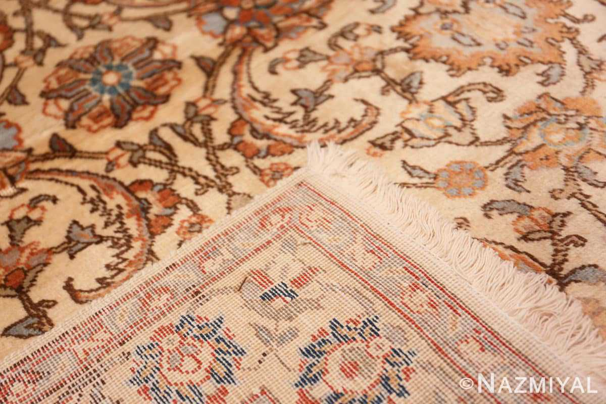 Weave Small Vintage Indian Tabriz rug 50529 by Nazmiyal