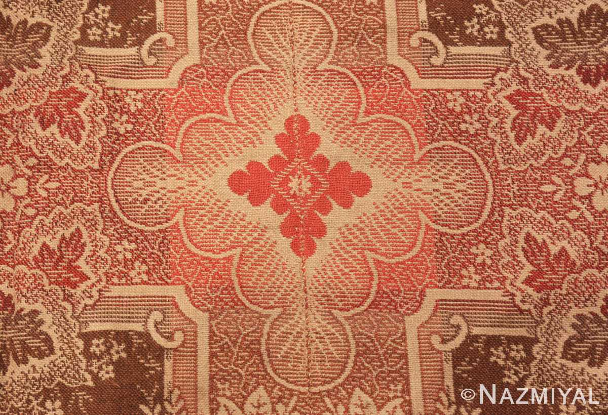 Zoom large all over design antique American Ingrain rug 50460 by Nazmiyal