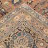 Picture of the weave of Large Antique Oversize Persian Kerman Rug #50462 from Nazmiyal Antique Rugs in NYC