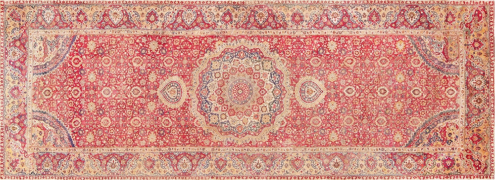Mughal Indian Carpet by Nazmiyal