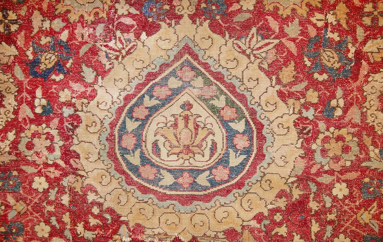 Mughal Indian Tear Shaped Pendant