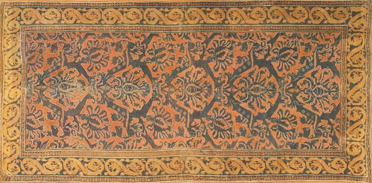 Antique 16th Century Alcaraz Rug 3288 by Nazmiyal