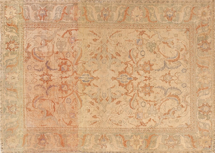 17th Century Antique Silk Polonaise Persian Rug 40787 by Nazmiyal