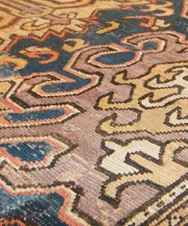 Antique 18th Century Caucasian Karabagh Rug