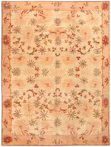Antique Indian Agra Rug 50050 Detail/Large View