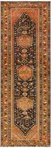 Vintage Persian Qashqai Rug 50466 Detail/Large View