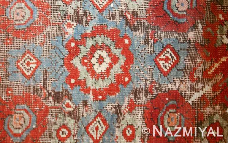 Beautiful 18th Century Turkish Oushak Rug