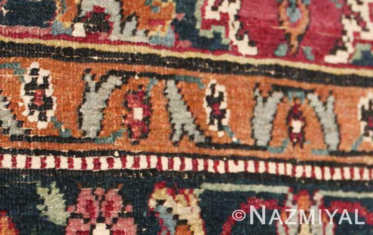 Small Silk Amp Wool 17th Century Esfahan Rug 8034 Nazmiyal
