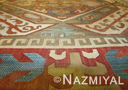 Antique Kaitag Embroidery Silk Azerbaijan Textile Nazmiyal