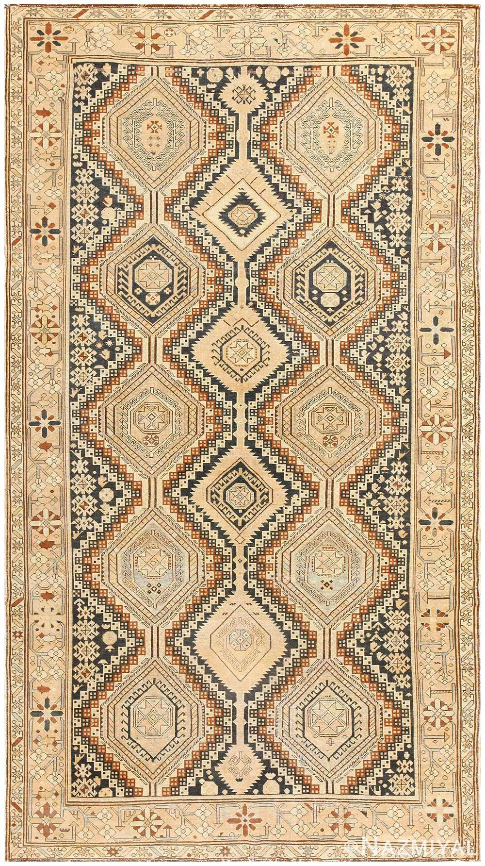 Antique Caucasian Shirvan Rug 50473 Nazmiyal