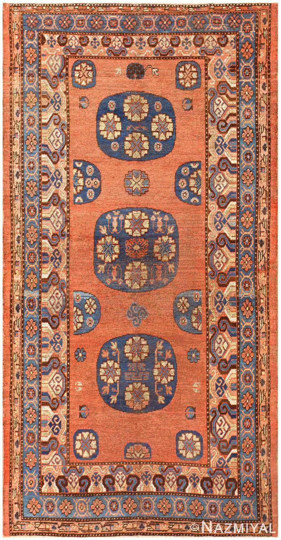 Antique East Turkestan Khotan Rug 50486 Nazmiyal