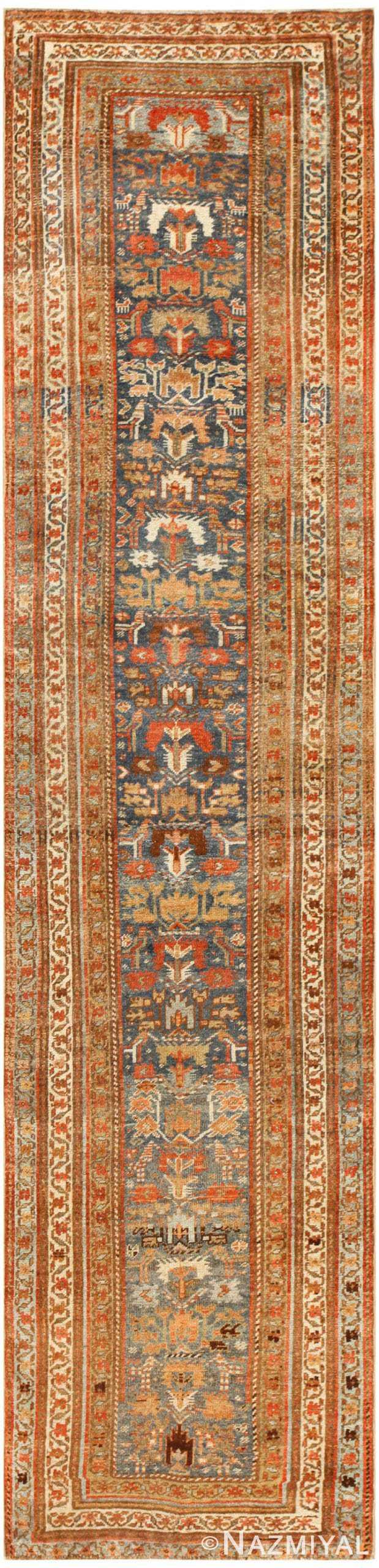 Antique Persian Bidjar Runner Rug 48559 Nazmiyal