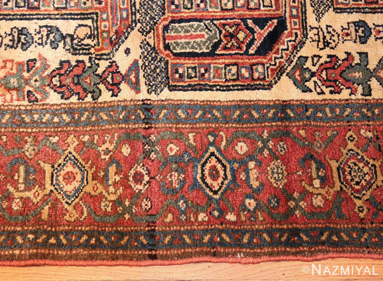 antique persian malayer runner rug 50499 border Nazmiyal