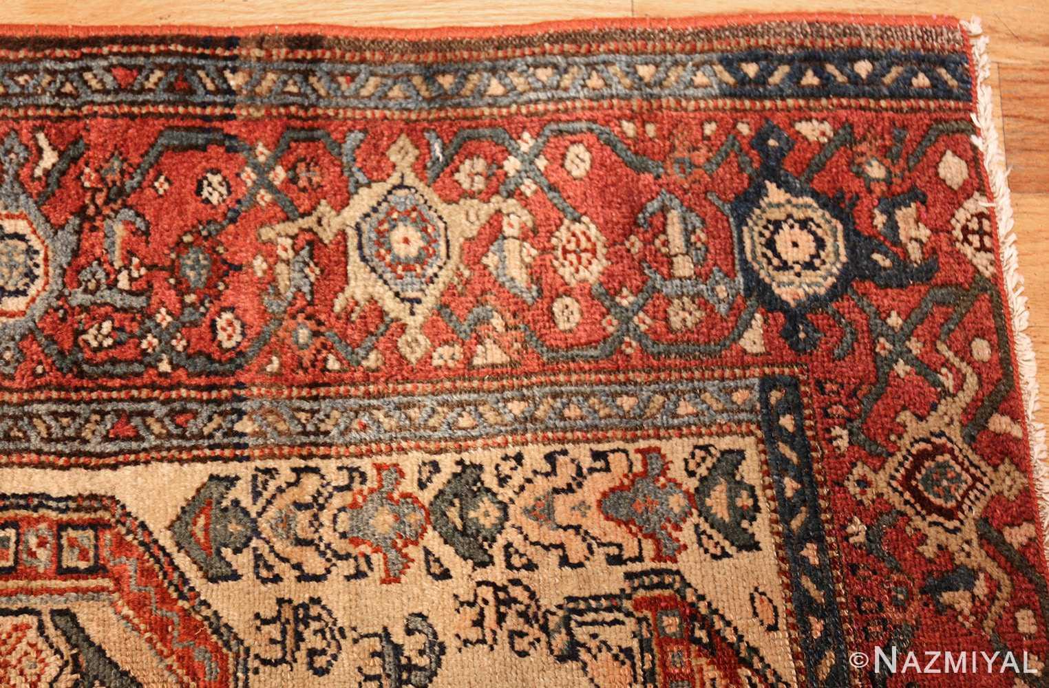 antique persian malayer runner rug 50499 corner Nazmiyal