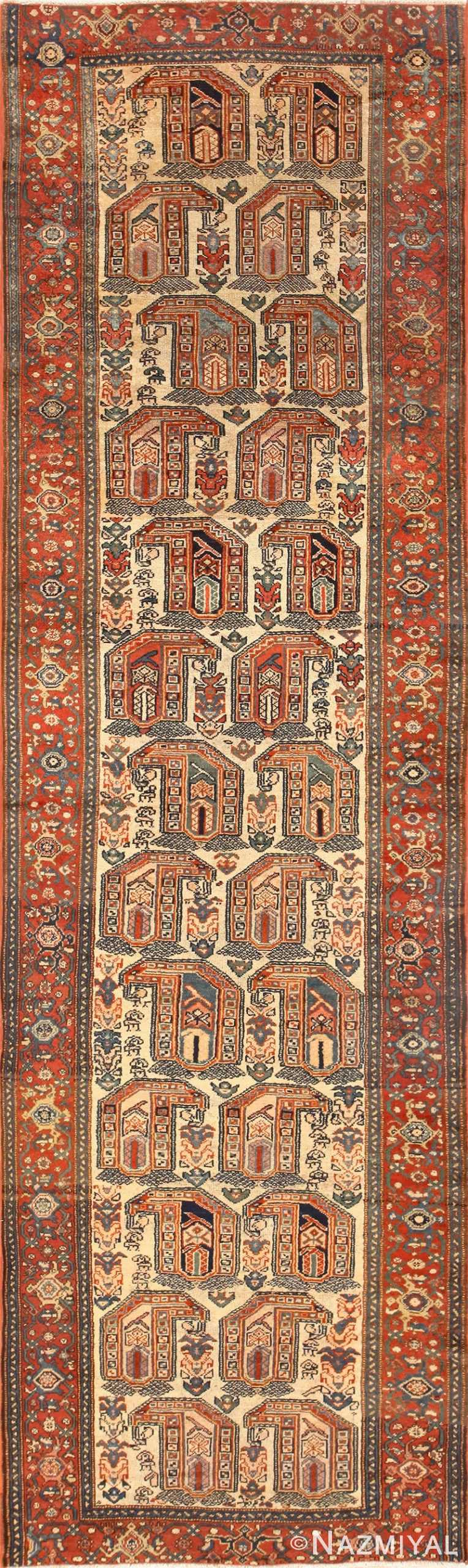 Antique Persian Malayer Runner Rug 50499 Nazmiyal