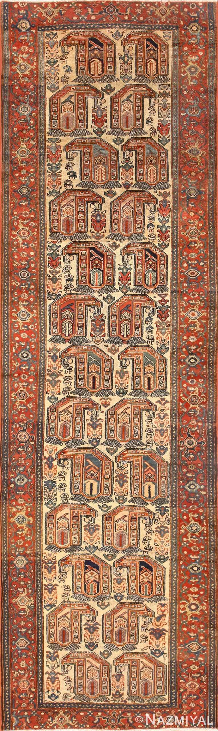 Antique Persian Malayer Runner Rug 50499 Nazmiyal