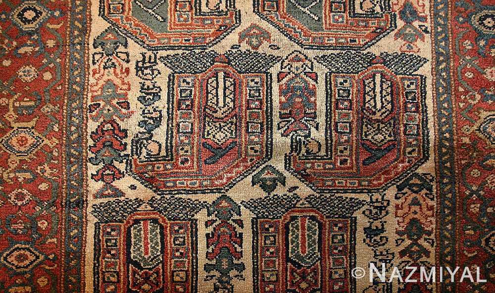 antique persian malayer runner rug 50499 field Nazmiyal