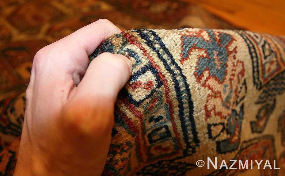 antique persian malayer runner rug 50499 pile Nazmiyal