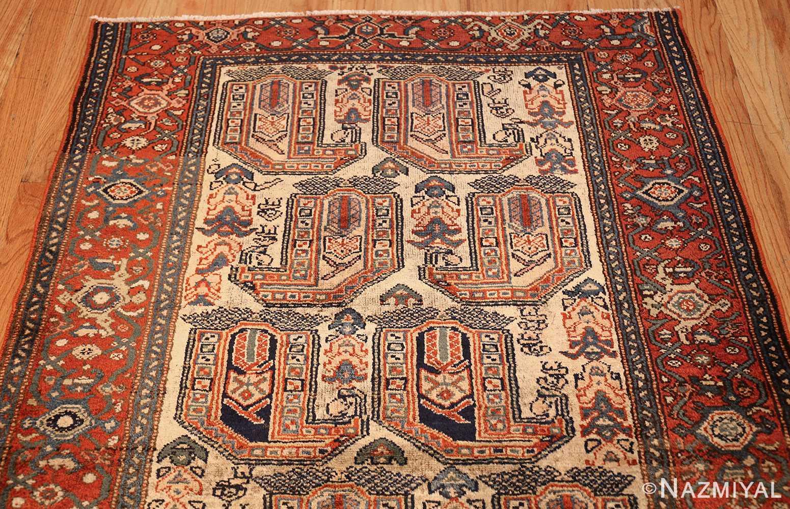 antique persian malayer runner rug 50499 top Nazmiyal