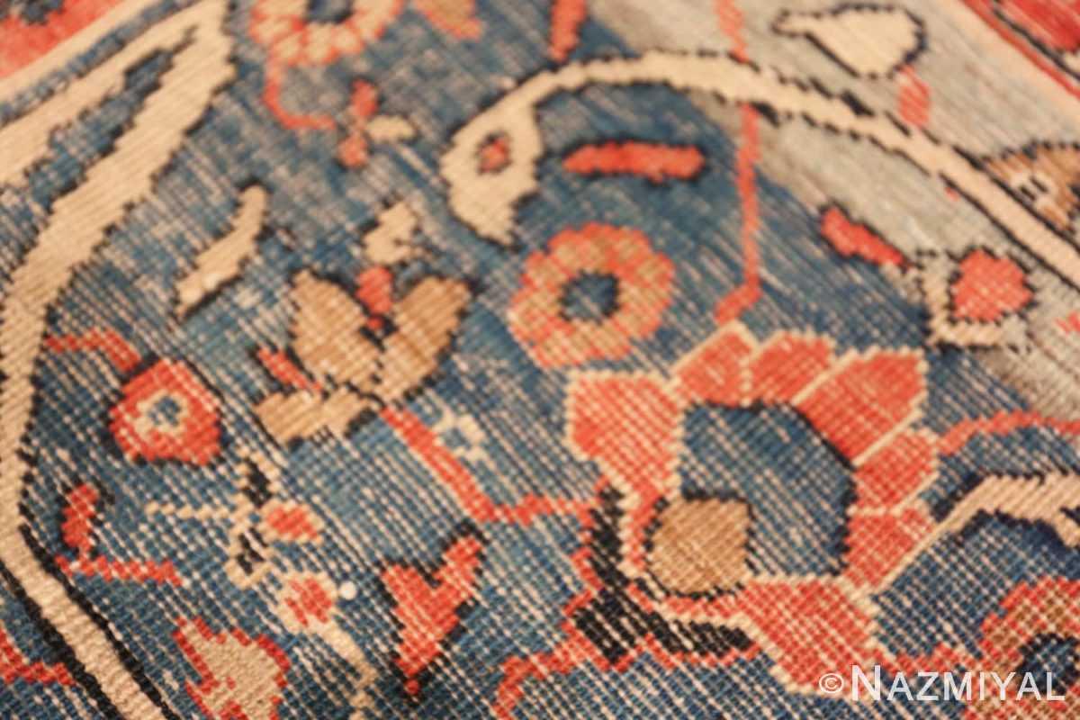 Back detail Antique Persian Bakshash rug 48720 by Nazmiya