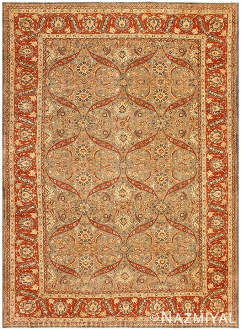 Beautiful Antique Persian Tabriz Rug 50253 Nazmiyal