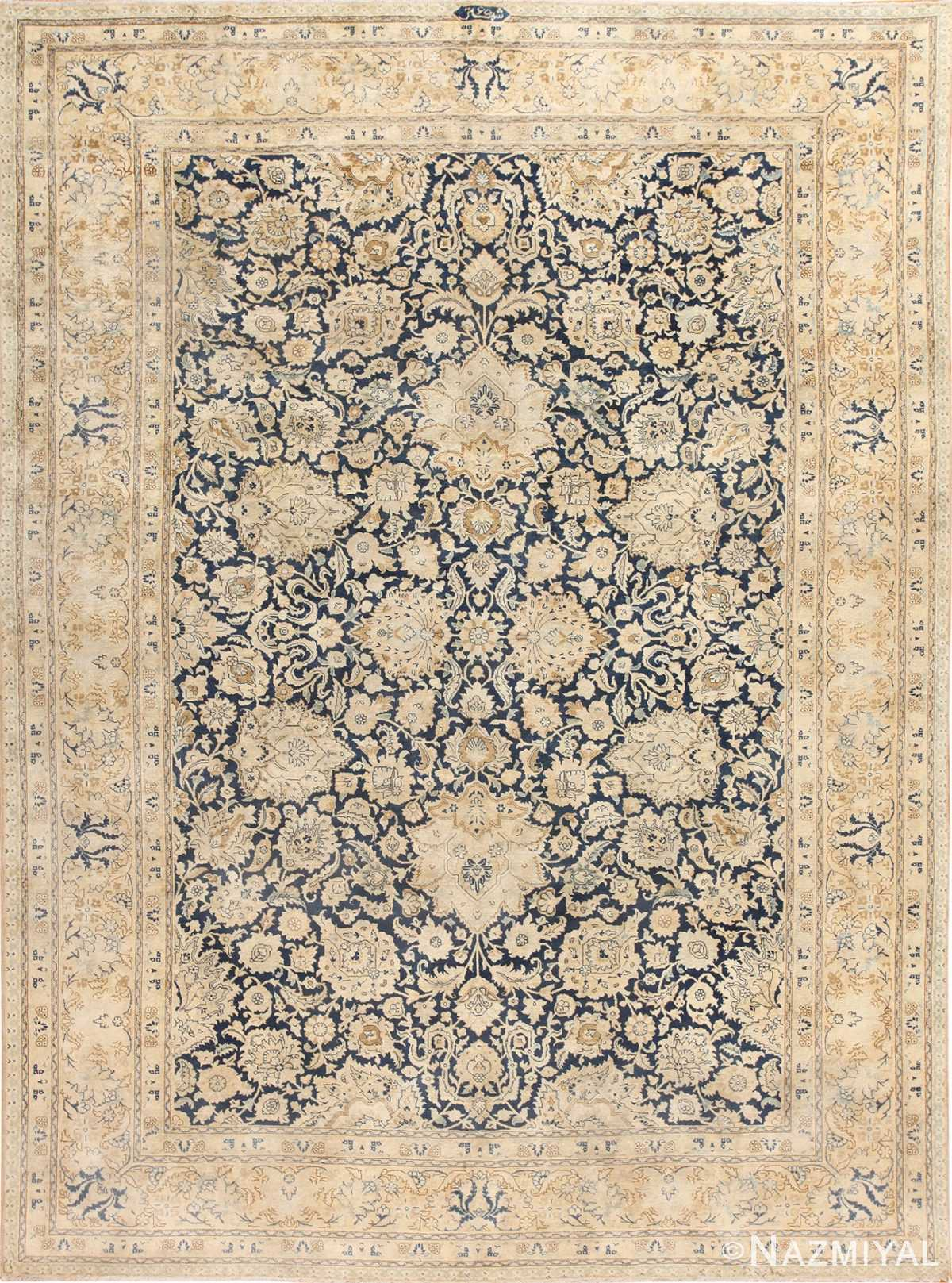 Beautiful Ornate Antique Persian Tabriz Rug 48638 Nazmiyal