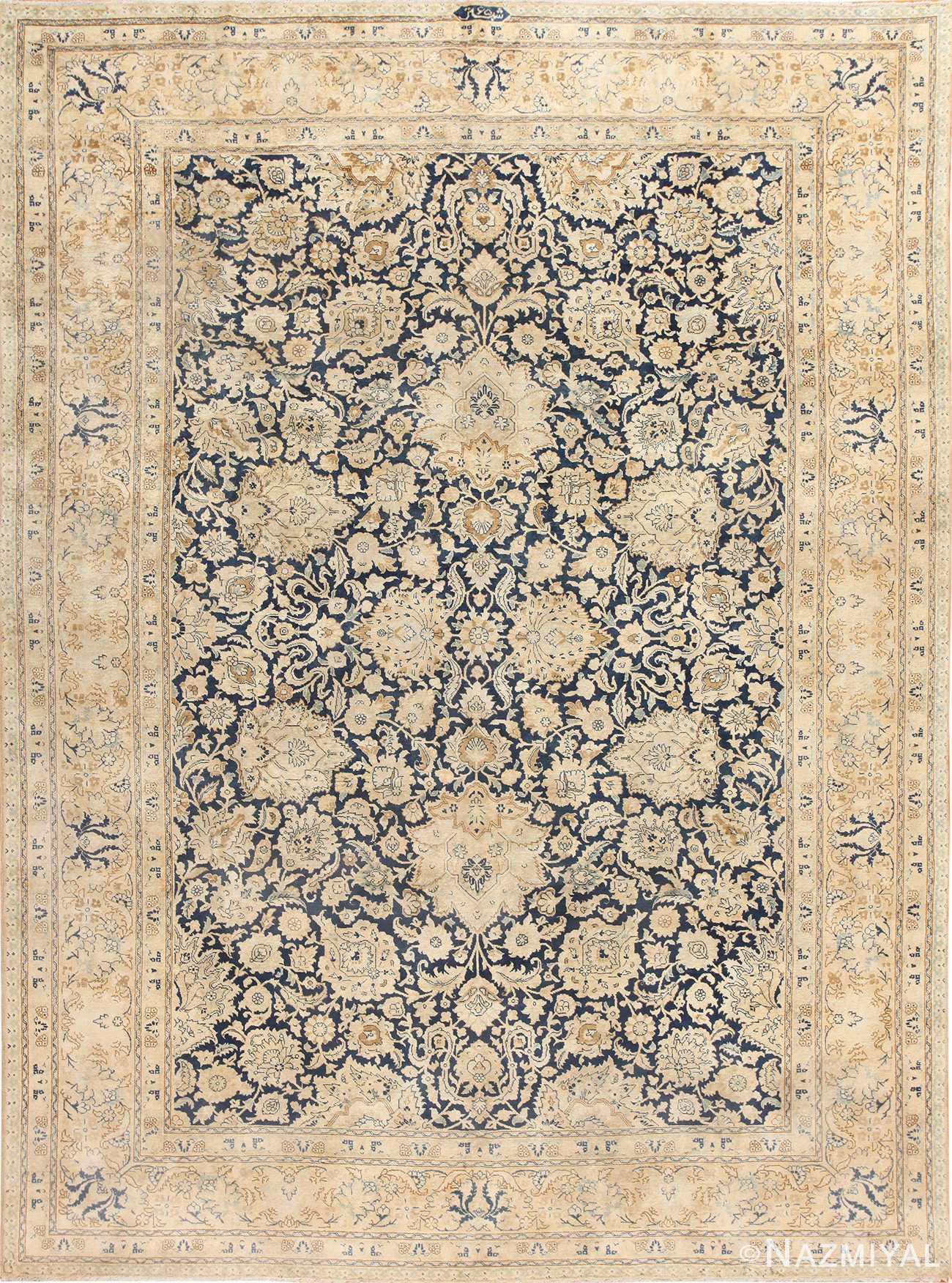 Beautiful Ornate Antique Persian Tabriz Rug 48638 Nazmiyal