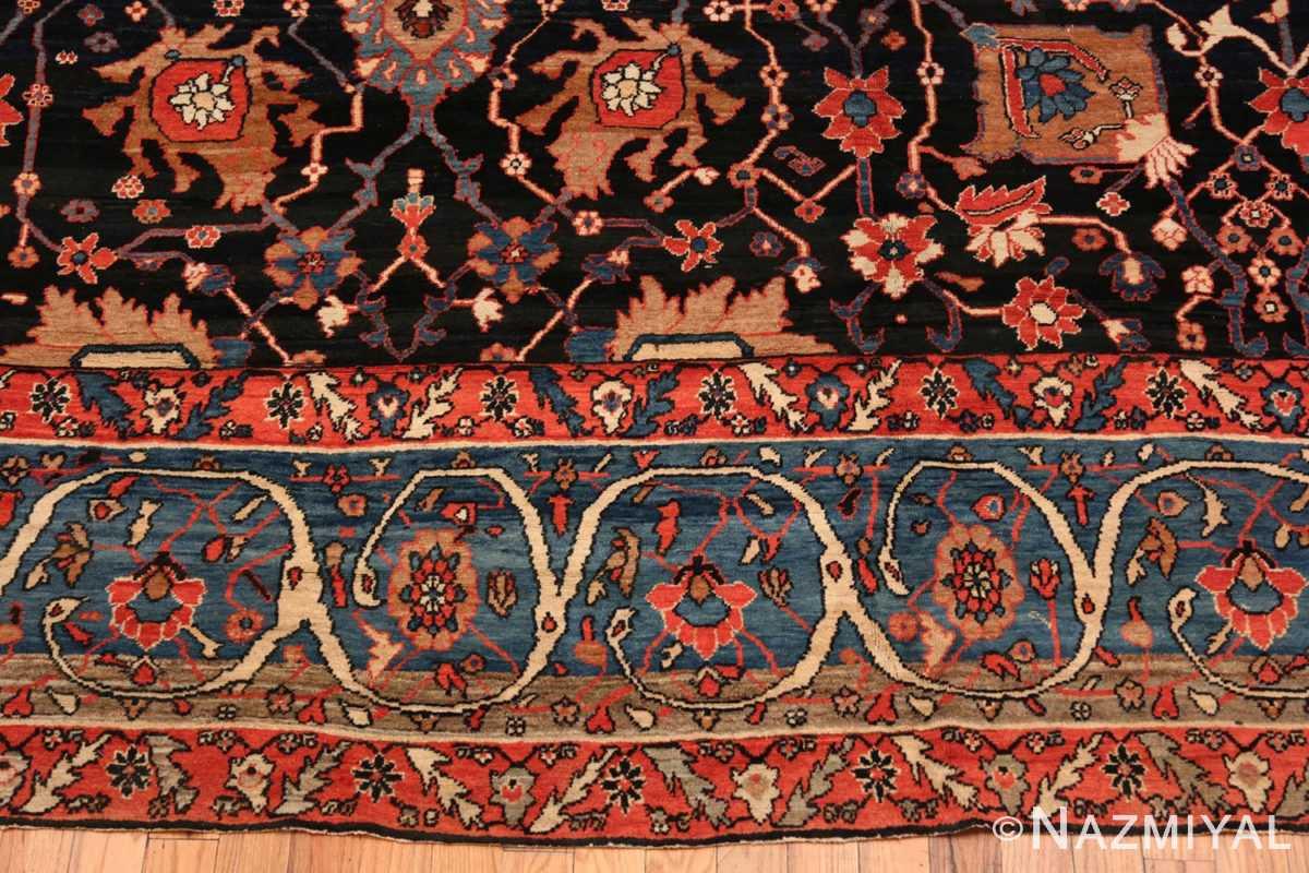 Border Antique Persian Bakshash rug 48720 by Nazmiyal