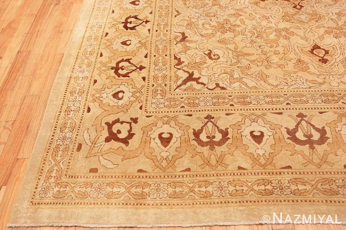 Corner Intricate Antique Indian Amritsar rug 50507 by Nazmiyal