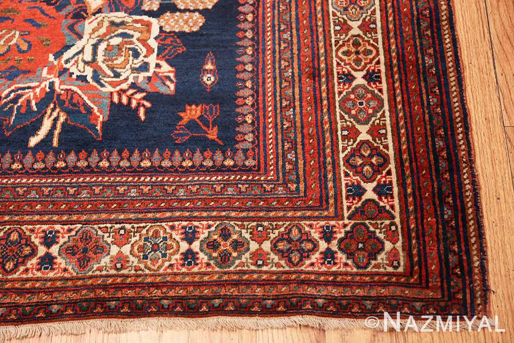 Corner Square Antique Persian Afshar rug 50397 by Nazmiyal