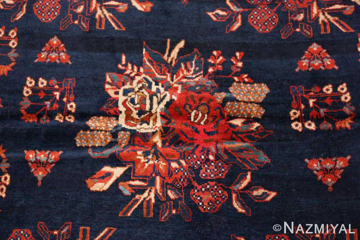 Detail Square Antique Persian Afshar rug 50397 by Nazmiyal